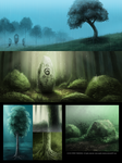 DAY 263. Sidhe - Visual Development 13 by Cryptid-Creations