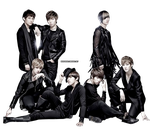 PNG : U-Kiss by chazzief