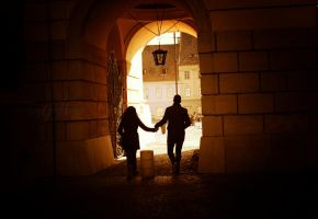 Lovers in Sibiu by since91