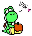 Yoshi - rendition of plush from Club Nintendo by Britterzbee