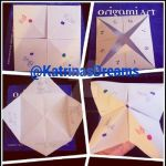 Origami Cootie Catcher/Fortune teller by AngelAmethyst