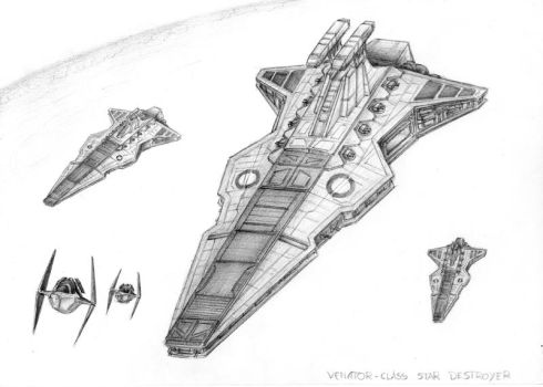 Venator-class Star Destroyer by JanBoruta