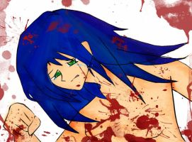 I'm getting more violent XD by 7serenee