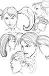 Headsketches by artistjoshmills