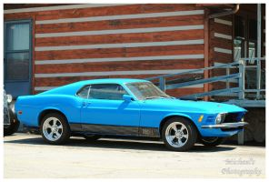 A 1970 Mach 1 Mustang by TheMan268