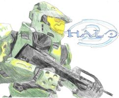 Master Chief by TheOcarinaOfTime