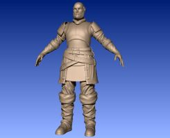 Medieval Dude WIP - Polycount Monthly Challenge by PyrZern