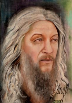 Eustace Conway by EvelinLang
