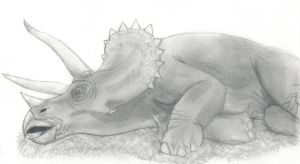 Jurassic Park: Triceratops by Jedi-Master-Autobot