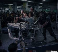 Zombies Cosplay The Waking Dead - Resident Evil by Vector67