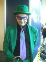 The Riddler Close up by mjac1971