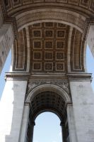Under the Triumphal Arch by Dodephine
