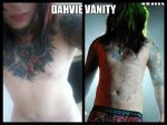 Dahvie's nakedness by LoveforJayy