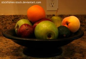 Fruit Bowl 1 by Stickfishies-Stock