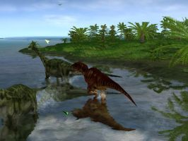 JPLF 7: The Chase is On by CrouchingAllosaurus