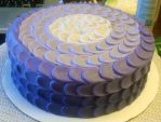 Ombre purple cake by RainbowsEndPastries