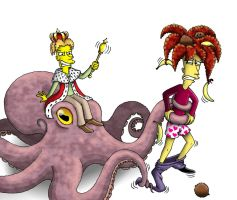 All Hail Cecil the Cephalopod King! by Nevuela