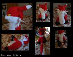 Plushie - Zorromon by Gomis