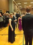 NordicTwin at prom! (Getting ready to dance.) by NordicTwin