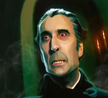 Christopher Lee by Cowboy-Lucas