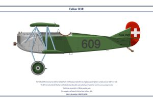 Fokker D.VII Switzerland 1 by WS-Clave