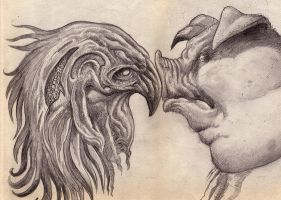 Sketch Poultry and Swine by phoebus-chango