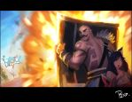 Braum Save the day! by Sanilea
