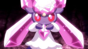 A Gift of Thanks|Diancie x Trainer!Reader
