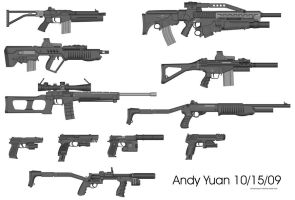 Rifles from Pimp My Gun 6 by c-force