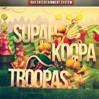 Supah Koopa Troopas W/ PSD by Crazed-Artist