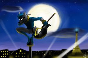 Sly Cooper by Fang-Angel-of-Death