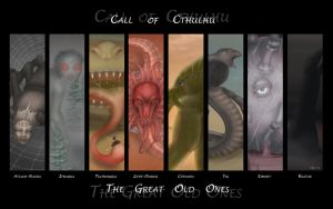 Call of Cthulhu by Vaporeon249