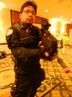 Anime Los Angeles 2015 Rainbow Six unmasked by Demon-Lord-Cosplay