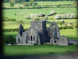 View from Cashel Castle by Caillean-Photography