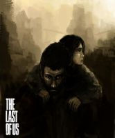 the last of us by molcray