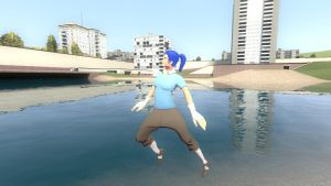 Dancing on water by Mitziwho