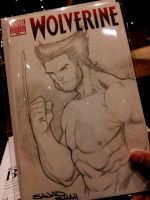 wolverine sketch cover by Sajad126