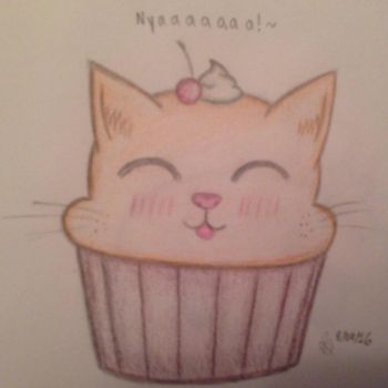 Cat Muffin  by SqueakySyrup