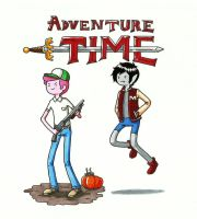 Adventure Time  Boy's Time by gmil123