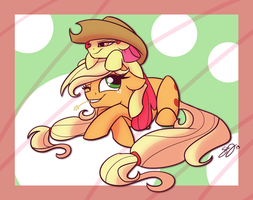 Apple on the Head by Famosity