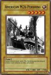 M26 Pershing card by Mexicano27