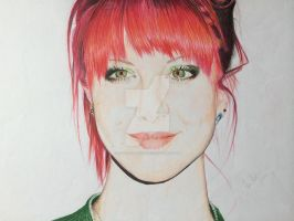 Hayley Williams Portrait by LisaSensless
