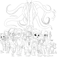 Chibipasta sketch 1 by Insanity-Monster