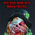 Zombie Leprechaun Bloody ooak by Undead-Art