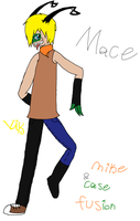 Mike and Case fusion - Mace by Vikkerz