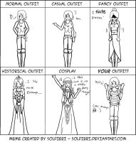 Pichi's Outfit meme by TehIzzy