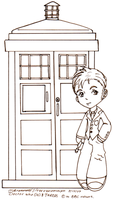 Doctor Who and TARDIS Chibis by SilverXenomorph