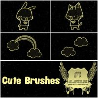Cute Brushes by favo123