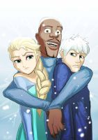 Iceman in the hood by Algiark