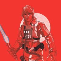 12x12 Luke Skywalker SLC by Hodges-Art